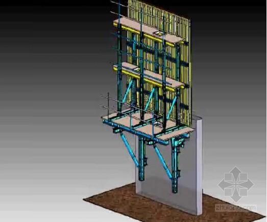 建筑模板及脚手架工程施工技术总结论文集(经典项目 63页)