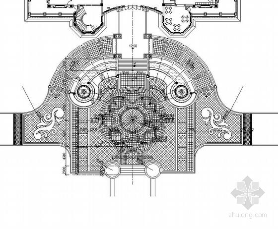 [东莞]居住区综合楼广场园林景观工程施工图-图9