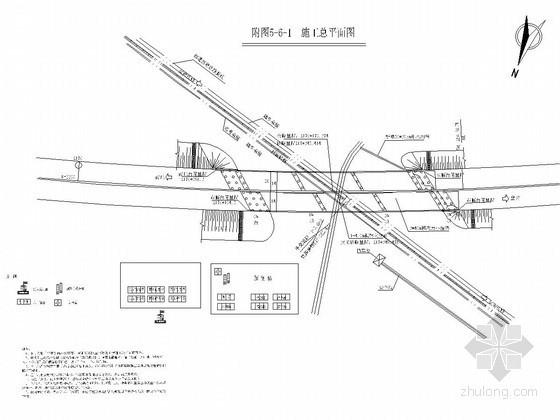 [河南]含上跨铁路及下穿铁路立交桥工程施工组织设计180页(框架涵顶进)