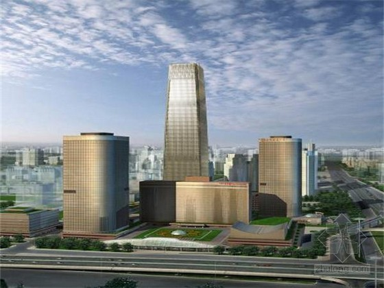 [北京]地标性超高层塔楼底板钢筋施工方案