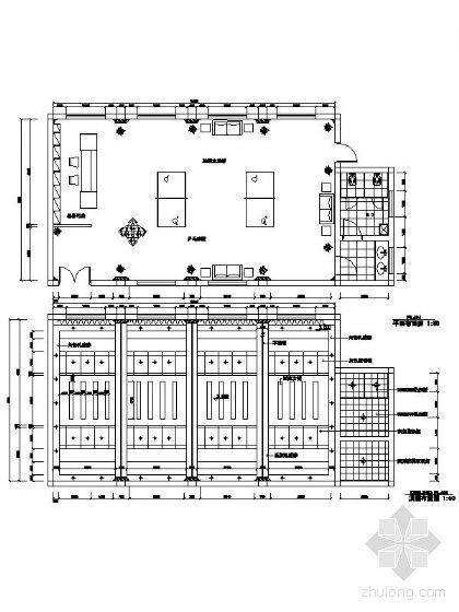 乒乓球室平面图