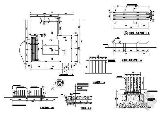 木质景观平台施工图-4
