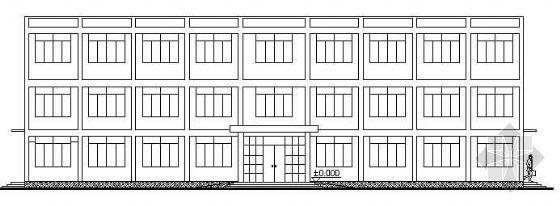 三层砖混办公楼完整施工图