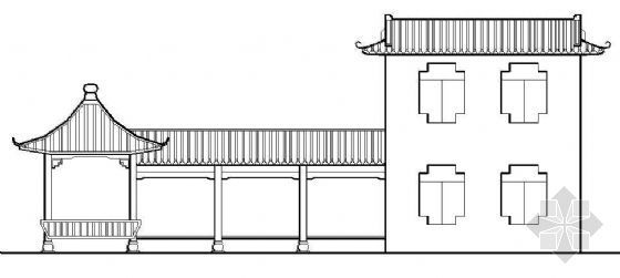 亭廊整套施工详图