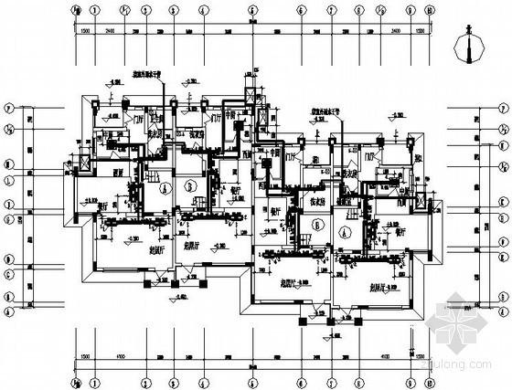 [洛阳]别墅住宅VRV空调系统设计施工图