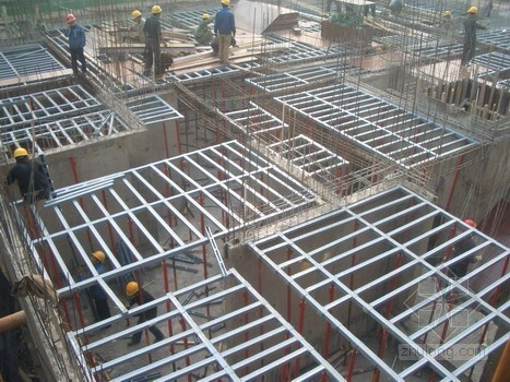 数字化钢性模板支撑组合结构方案