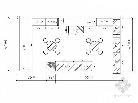 38平方电脑配件卖场设计方案(含效果)