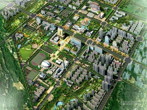 [河南]某市中心区修建性详细规划设计文本