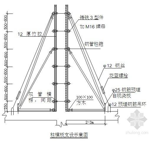 湖北省某综合楼工程施工组织设计