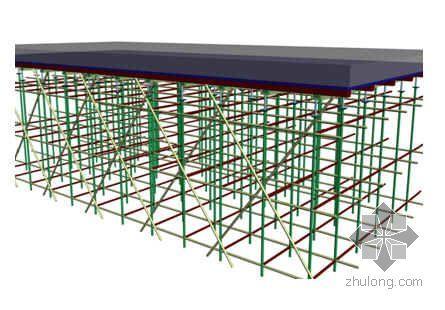 深圳某综合楼模板工程施工方案(多层板 扣件式满堂脚手架 计算)
