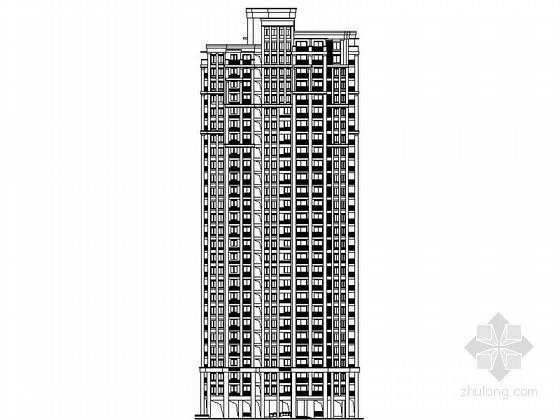 [镇江]某二十八层(底层架空)住宅楼建筑施工图(5、6、7号楼)