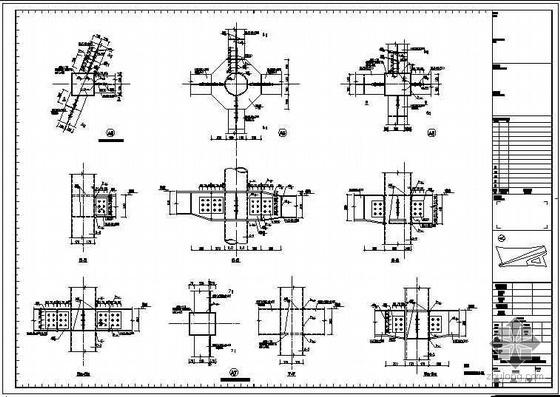 北京奥运期间展厅体验中心展厅钢结构图