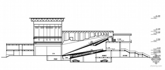 [福州]某剧场建筑设计方案(有效果图)