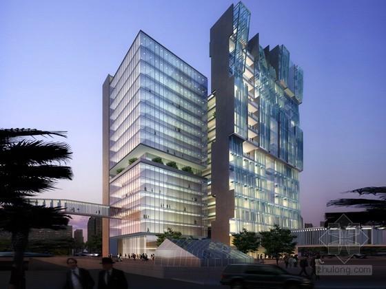 商业大楼PSD分层素材下载