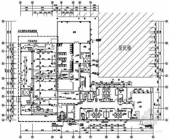 [广州]社区医院消防施工图纸