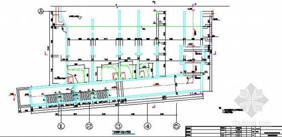 地下人防工程风亭及出入口主体结构设计图