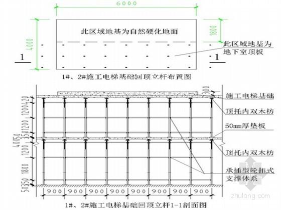 施工电梯基础施工技术交底
