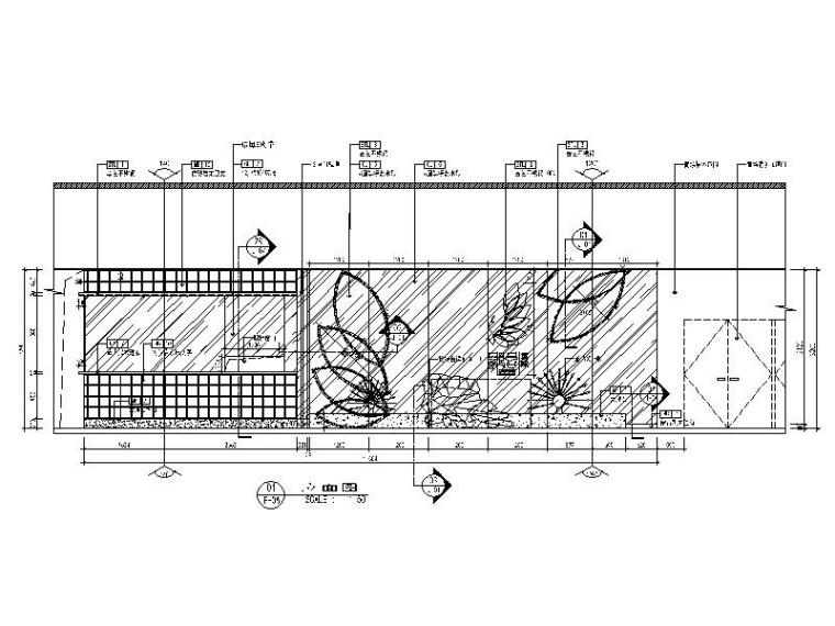 [北京]优雅唯美云南特色餐厅室内设计施工图(含效果图)_3