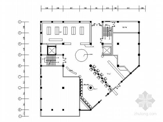 [江苏]高档时尚现代酷旋风KTV室内设计装修施工图(含高清效果图)