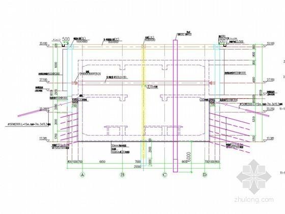 [江苏]地铁深基坑桩锚结合两道支撑支护施工方案