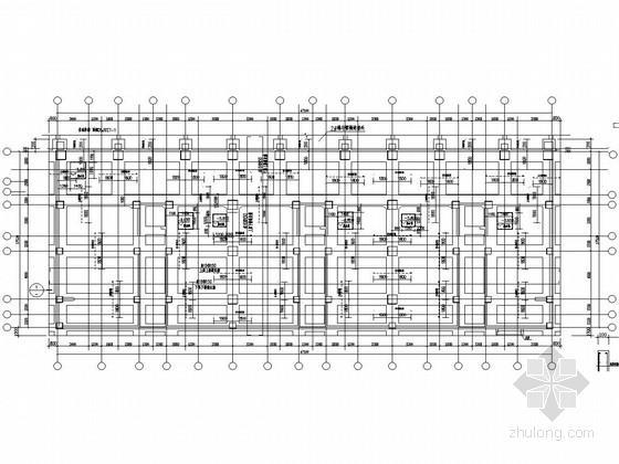 18层框支剪力墙结构商住楼结构施工图(桩承台基础)