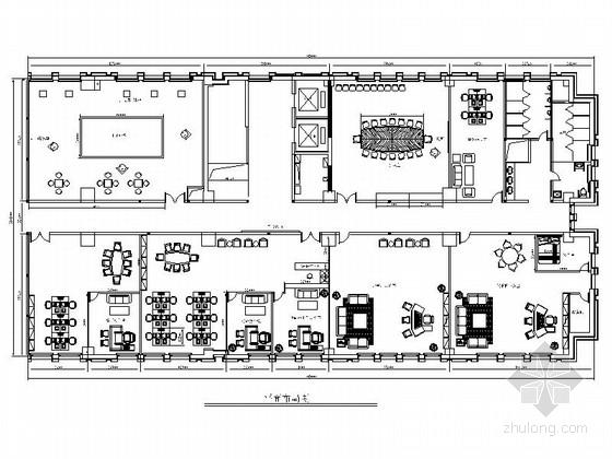 [新乡]高新技术总部基地现代售楼处室内设计方案
