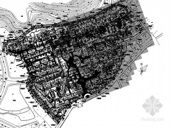 [南安]居住区四期组团绿地植物配置设计施工图