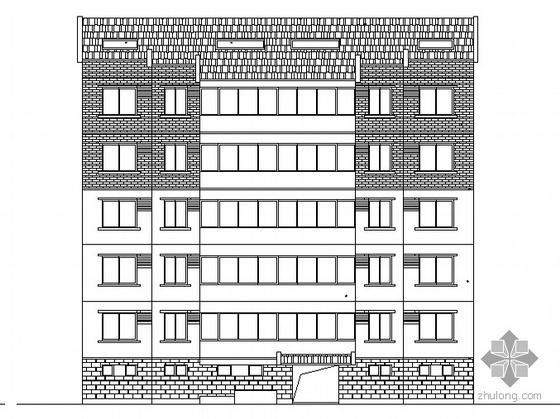 [浙江]某现代小区规划建筑施工套图(含效果图)(大院设计)