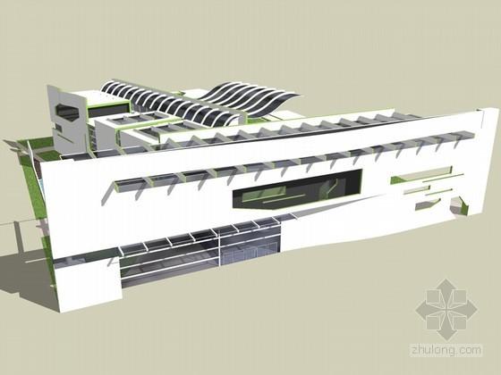 时尚建筑SketchUp模型下载