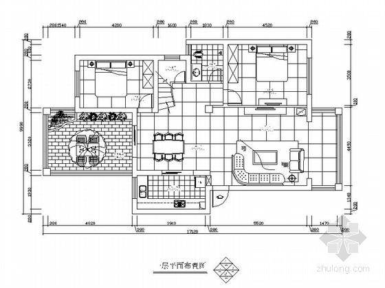 某自建小别墅室内装修图