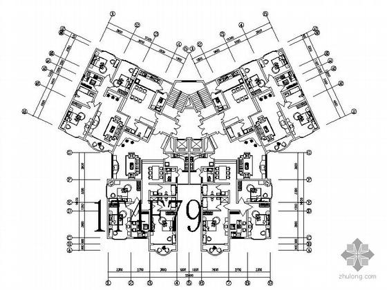 20套多层别墅建筑施工图+知名设计院建筑节点通+150个常用住宅