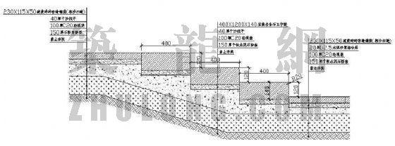 某双庭广场景观施工图-2