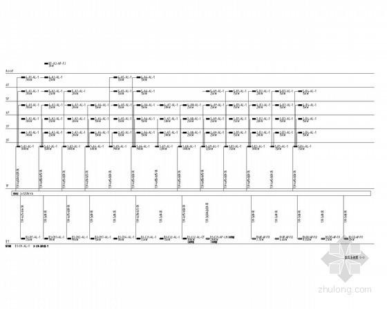 [北京]工业厂房带车库(人防)全套电气施工图116张