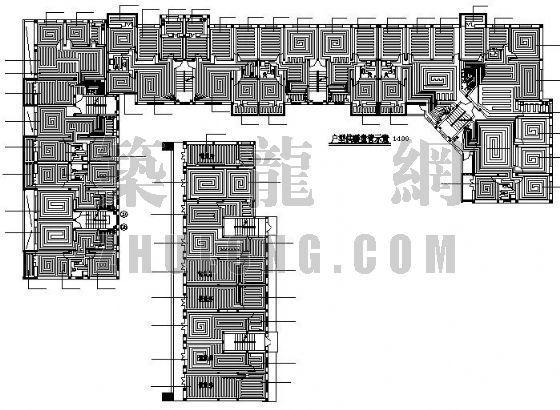 宁夏某小区住宅地面辐射采暖设计全套图