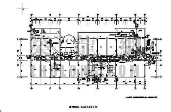 山西中阳宾馆给排水全图