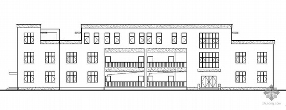 某三层框架结构办公大楼建筑结构水电施工图