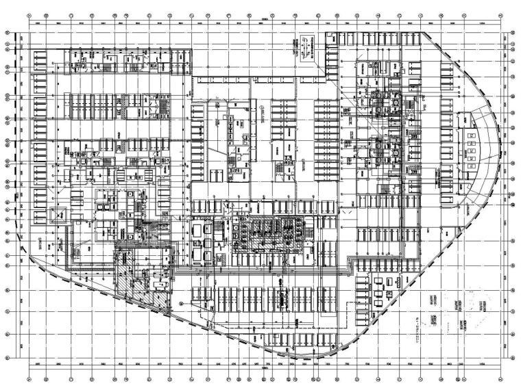 [大连]超高层商业综合体给排水消防地下室人防设计(含5栋建筑)