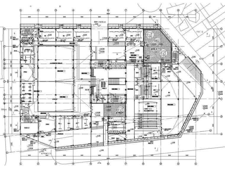 [山西]综合展示馆电气施工图(含变电所、智能照明)