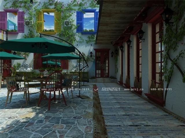 据说这是丹东最美的休闲度假民宿设计,快去瞧瞧-03内庭院.jpg