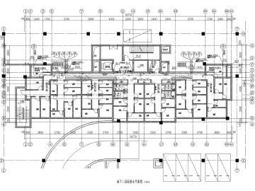 [石家庄]青年广场住宅小区给排水消防人防设计(含储藏室和车库)