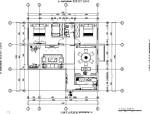 [湖北]中式风格两居室住宅室内施工图