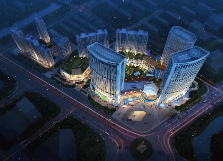 华元临平城市综合体建筑设计方案文本