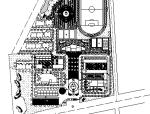 40套大学校园规划总平面图CAD方案图纸