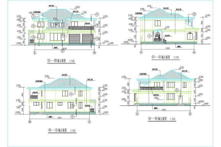 农村2层自建房方案