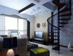 复式居室3D模型下载