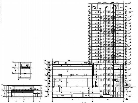 [合集]3套高层知名五星级酒店建筑施工图_6