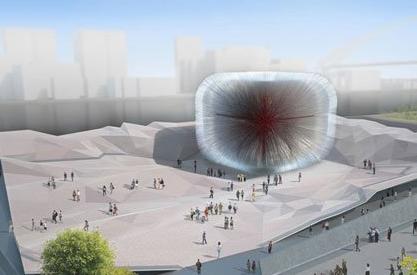 世博会英国国家馆主展馆结构设计要点及试验研究