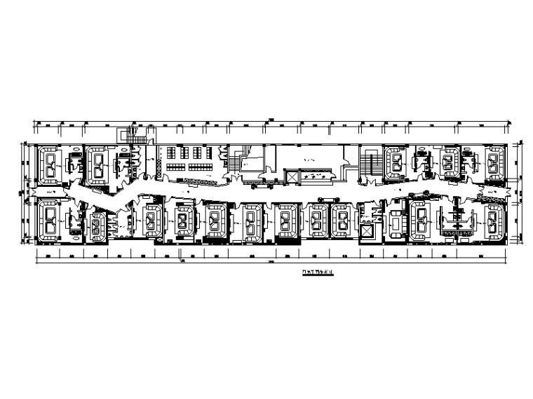 [山东]某时尚夜总会设计CAD施工图(含效果图)