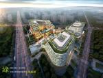 绿地超现代风格酒店及商业建筑设计方案文本(近几年图纸)