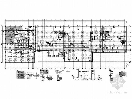底板结构平面图